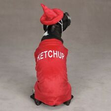 Casual Canine KETCHUP BOTTLE Halloween Dog Costume