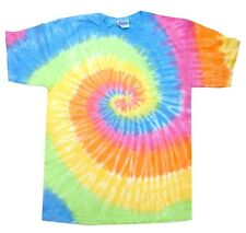 TIE DYE T-SHIRTS VARIATION OF COLORS ADULT MEDIUM