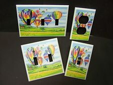HOT AIR BALLOONS #M10  LIGHT SWITCH COVER PLATE