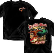 It's all about Guitars Retro Black- T-shirt Adult Sizes