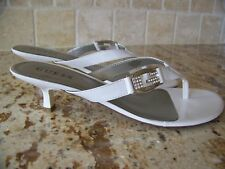Guess Shoes GFDOOLEY White Patent w/Rhinestones