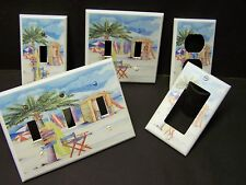 PALM TREE BEACH SURFBOARDS LIGHT SWITCH OR OUTLET COVER