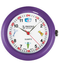 Prestige Medical  Nurse/ Medical Symbols Analog Stethoscope Watch- 4 Colors!