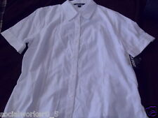 Ladies Table Eight Corporate White Blouse Shirt New $75 Various Sizes Available