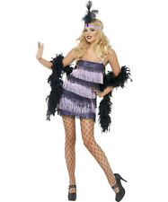 Sexy Halloween Adult Roaring 20's Fever Flapper Girl Costume