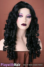 Raunchy Ringlets! Skin Top Wig - COLOUR CHOICES!