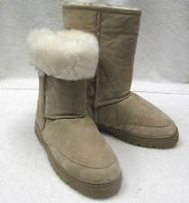 Womens Boots Sheepskin Shearling Chestnut Sizes All Fur