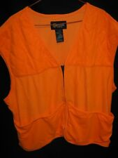 NEW-Blaze Orange Hunting Vest-Soft & Quite-Outfitters