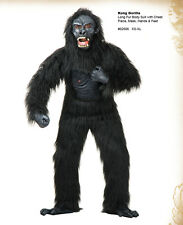 Kong Gorilla Adult Costume Sizes L, XL