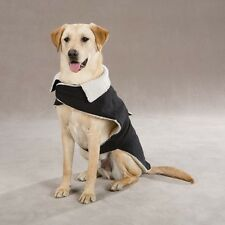 Zack & Zoey Classic Sherpa Dog Jacket Coat Black