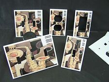 JAZZ SAXOPHONE MUSICAL INSTRUMENTS #1 LIGHT SWITCH COVER PLATE OR OUTLET COVER