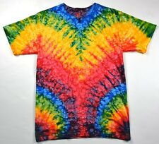 Multicolor Woodstock Tie Dye T-Shirts Size Youth to Adult XL. Check Description