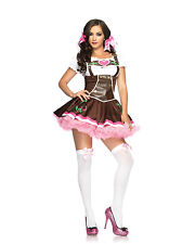 Sexy Halloween Adult Lil' German Girl Oktoberfest Beer Maiden Costume