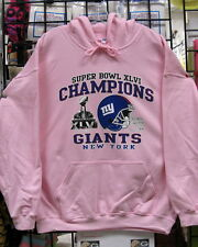 New York GIANTS Superbowl CHAMPIONS, Pink HOODIE-S, M, L, XL, 2XL, 3XL. 4XL, 5XL