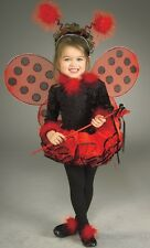 New Kids Halloween Costume Cute Lady Bug Dress Outfit