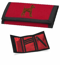 Irish Terrier Wallet Embroidered by Dogmania