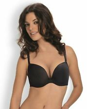 Wonderbra Moulded Cup Push Up T Shirt Bra 9145 Black