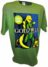 Godzilla Polar Lights Aurora Monster Model Kit 70's Toys Horror Movie Sci-Fi Tee