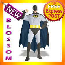 C83 Licensed The Batman Muscle Chest Mens Fancy Dress Adult Costume