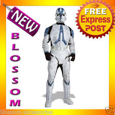 C295 Star Wars Clone Trooper Deluxe Halloween Fancy Dress Adult Costume