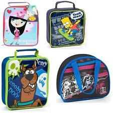 NOVELTY TV CHARACTERS LUNCH BAGS / CHILDRENS / BOYS AND GIRLS / SCHOOL / HAND