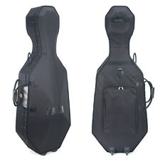 Cecilio CHC-50C Lightweight Cello Hard Case ~Size 4/4 3/4 1/2 or 1/4
