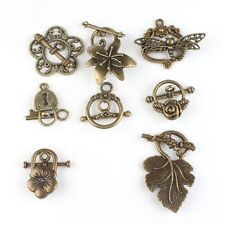New Charms Wholesale Vintage Bronze Alloy Toggle Clasp Jewelry Findings