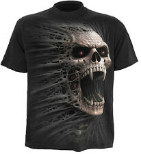 Spiral Direct CAST OUT t-shirt/tee/top/tshirt, biker/tattoo/skull/goth/horror