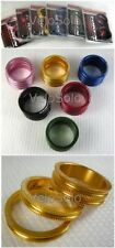 """Token CNC Anodized 1 1/8"""" HEADSET SPACER KIT 1 x 10mm 2 x 5mm - all colours!"""