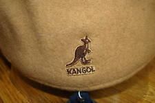 Mens  Classic  Kangol  Wool  504  Ivy  Cap  Color  Camel Brown