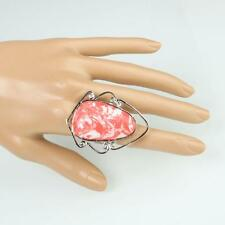 New Gorgeous Agate Ring Jewelry Size 6 7 1/4 8 10 Pink