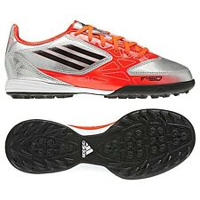adidas F10 TRX TF Turf  2012 Soccer Shoes Silver / Orange / Black Kids - Youth
