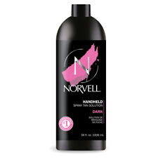 Norvell Amber Sun Airbrush Spray Tan / Sunless Dark Tanning Solution 34oz Quart