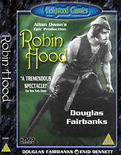 Robin Hood Douglas Fairbank Hollywood Classic DVD
