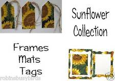 Sunflower Collection Vintage Tags Frames scrapbooking Embellishments
