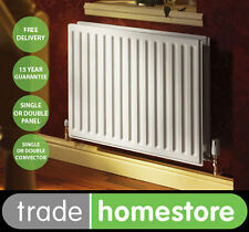 Quinn Round Top Compact Radiator 500mm High Series - Width Choice +FREE DELIVERY