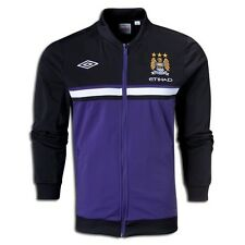 Umbro Manchester City  Soccer Track JACKET 2012-13  Brand New Black - Purple