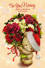cute with love NANNY christmas card - multi-listing