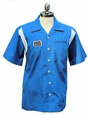 SHELBY PIT SHIRT ROYAL BLUE BUTTON DOWN CAMP SHIRT BY DAVID CAREY INC