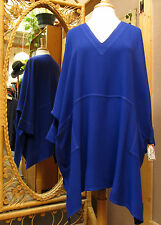 Dairi Moroccan Sousdi V-Neck 2 Pockets Plus Size Blouse Many Colors Fits L to 3X