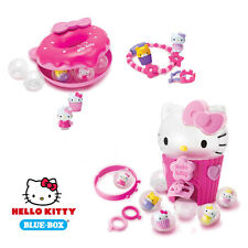 Hello Kitty - Squishy Character Charm / Ring Playsets - Assorted Items - NEW