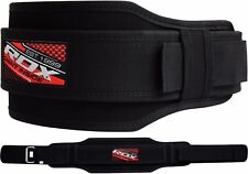 RDX Weight Lifting Belt Gym Training Back Support Power Lumber Pain Fitness AB B