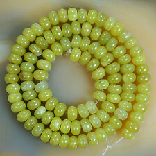 """Natural Stone Rondelle Beads 16"""" 3x6mm Pick Stone"""