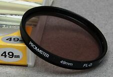 49mm Screw-In Filter PROMASTER FL-D FLUORESCENT DAYLIGHT JAPAN NEW OLD STOCK