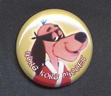 HONG KONG PHOOEY Badge Button Pin -  25mm and 56mm size!