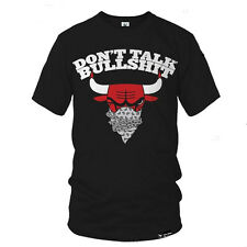 "HIGHSHINE ""BULLSHIT"" T-SHIRT CHICAGO BULLS NBA OVOXO TYGA ASAP YMCMB TISA CAP"