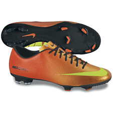 Nike Mercurial Victory IV FG  2013 Soccer SHOES  New Orange / Black KIDS - YOUTH