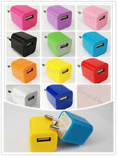 11 Color EU Wall Plug USB Power Adapter Charger for iPhone4 4S iPod Touch LOT OF