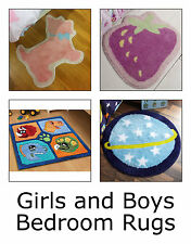 Girls and Boys Bedroom Rugs - Dinosaur Space Fairytale Butterfly Teddy and More