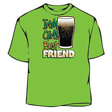 St. Patrick's Day Beer Irish Women Best Friend T-Shirt
